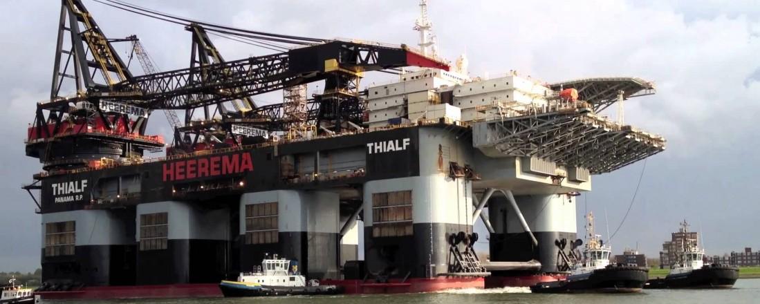 Thialf skal oppgraderes og oppdateres, dekk for dekk. Foto: HS Marine Groep