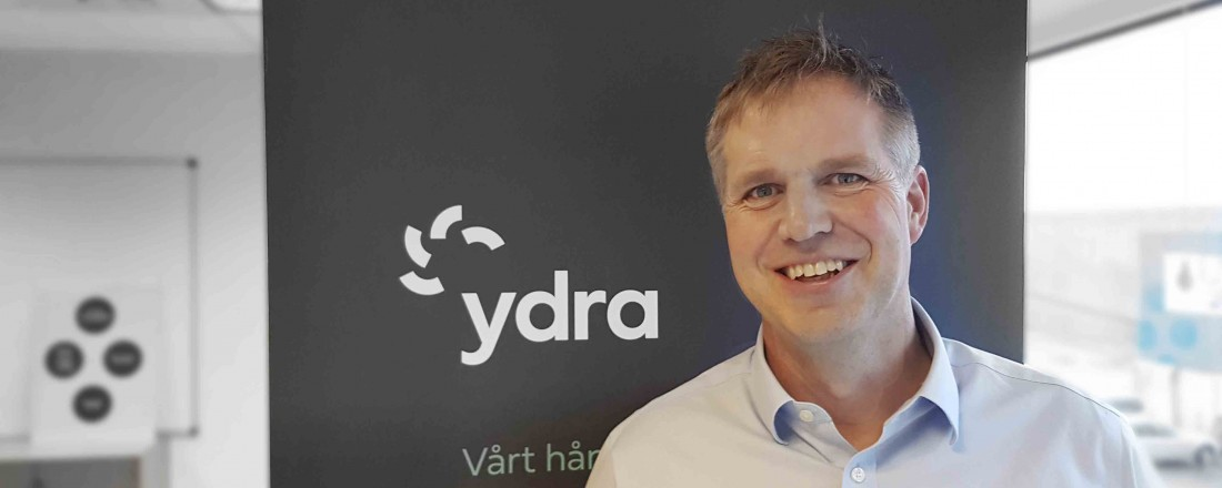 Mads Bårdsen, daglig leder Ydra. Foto: Ydra