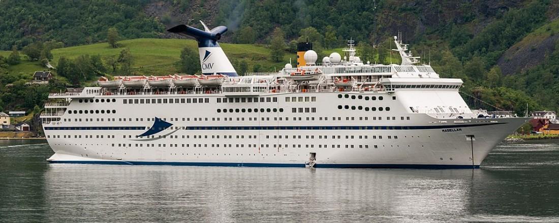 Cruiseskipet Magellan i Flåm. Foto: Wikipedia