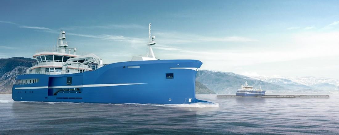 Illustrasjon av den nye båten.