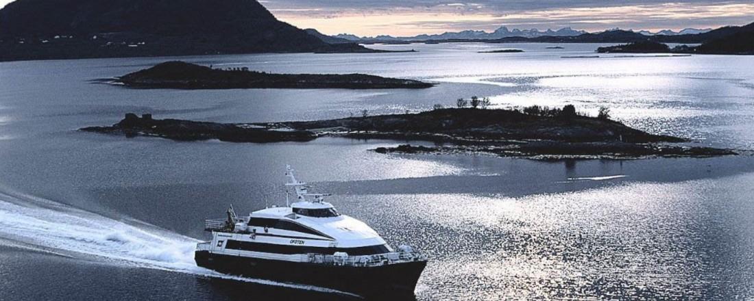 Brødrene Aa skal bygge to nye Nordlandsekspress-båter, i følge Avisa Nordland. Illustrasjonsfoto: Nordland Fylkeskommune