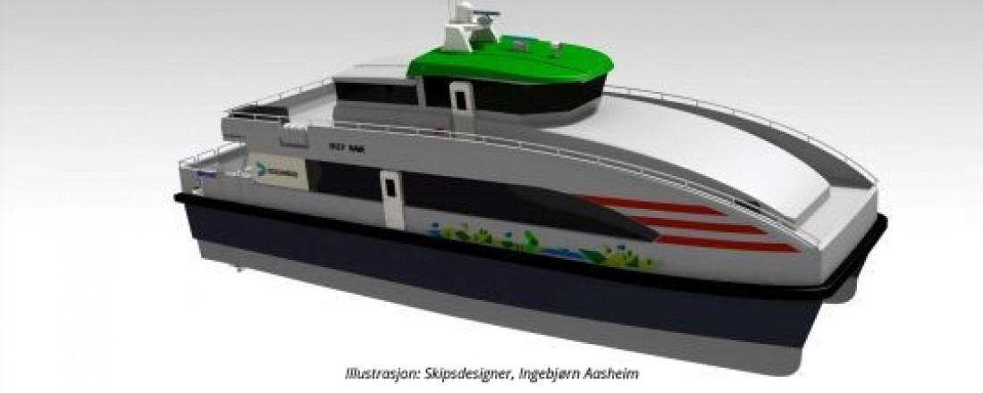 Illustrasjon: Skipsdesigner Ingebjørn Aasheim