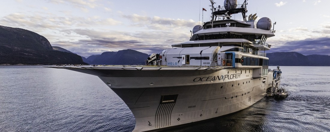 OceanXplorer in the fjords of Norway. Photo: @Taj Howe