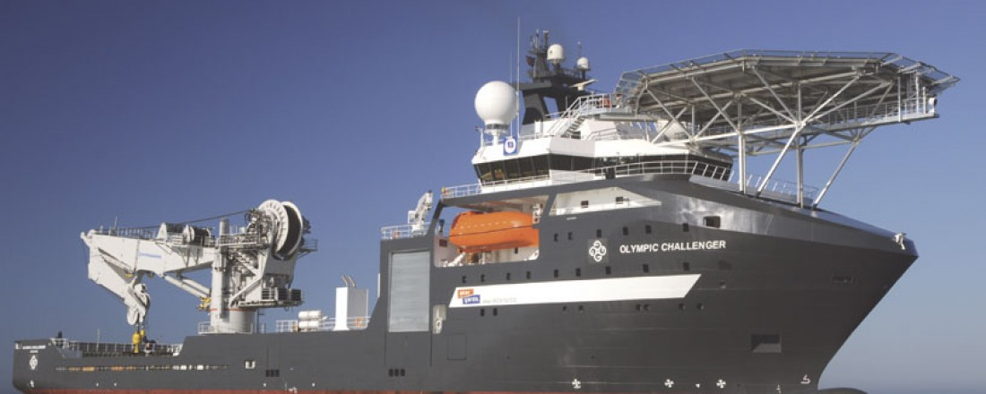 Olympic Challenger blir utleid i to år, fra Olympic Subsea til Reach Subsea. Arkivfoto: Olympic