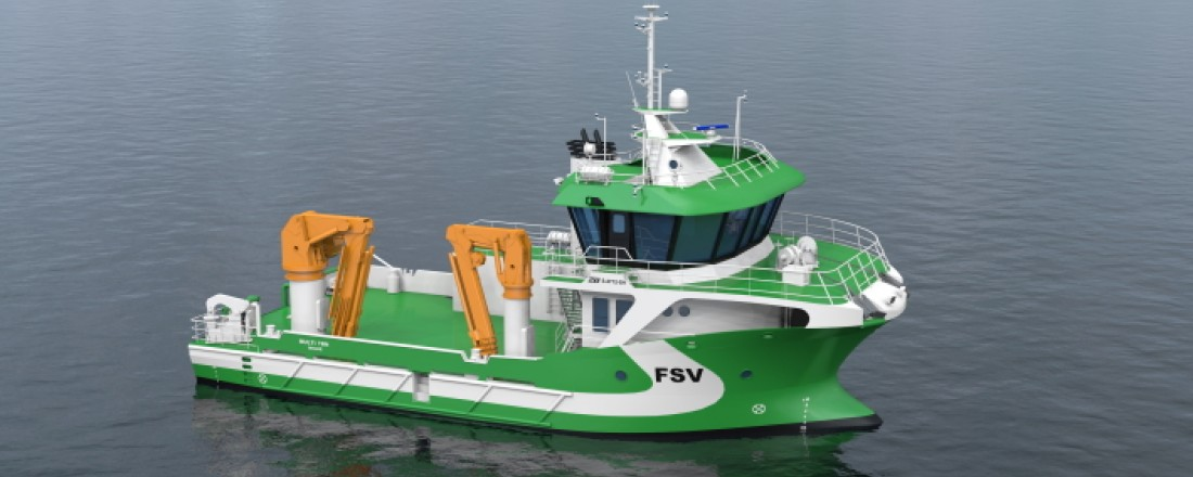 Med den nye kontrakten har FSV Group hele sju fartøy i bestilling hos Sletta Verft. Foto: FSV Group.