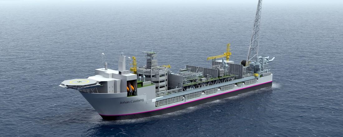 Produksjonsskipet til Johan Castberg-skipet gir store ringvirkninger og mange arbeidsplasser. Illustrasjon: Statoil