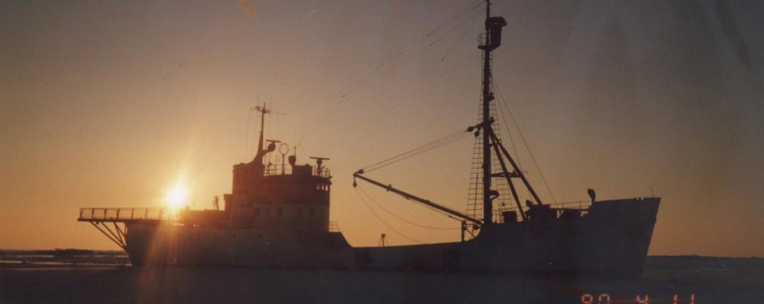 Polarstar skal snart hjem til Brandal. Arkivfoto: Ishavsmuseet arkiv