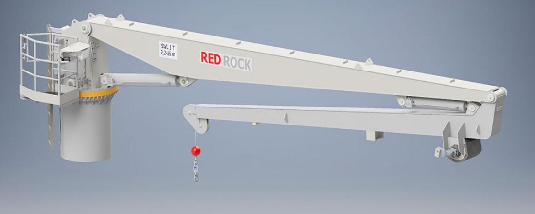Red Rock leverer nok en gang kraner til Vard. Ill. Red Rock Marine