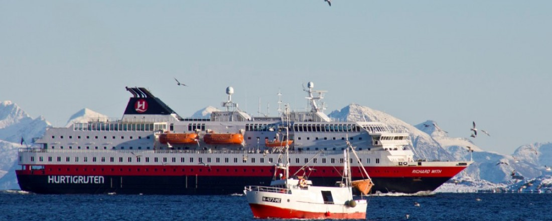 MS Richard With. Foto: Hurtigruten