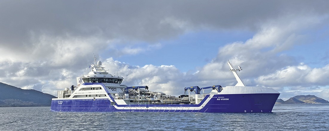 Ro Vision ble Ship of the Year 2020. Foto: Larsnes Mek. Verksted.