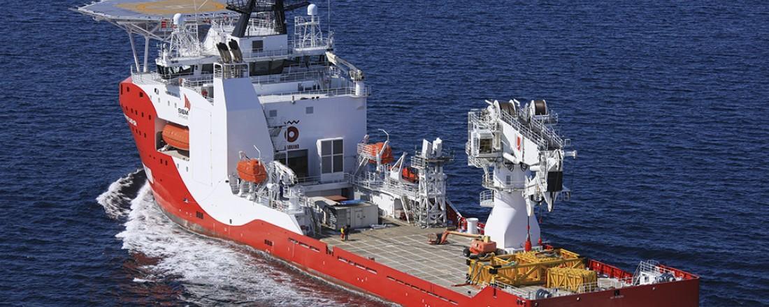 Siem Spearfish er et av skipene Siem har signert jobbkontrakt på. Fartøyet ble levert fra Vard Brattvaag i 2014. Arkivfoto: Harald M. Valderhaug