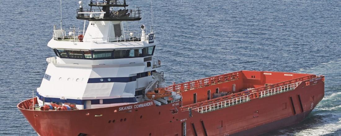 Skandi Commander er ett av tre fartøyer fra DOF med nye kontrakter i Brasil