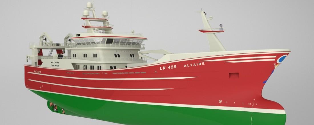 Karstensen to build new pelagic trawler. Ill: Karstensen.