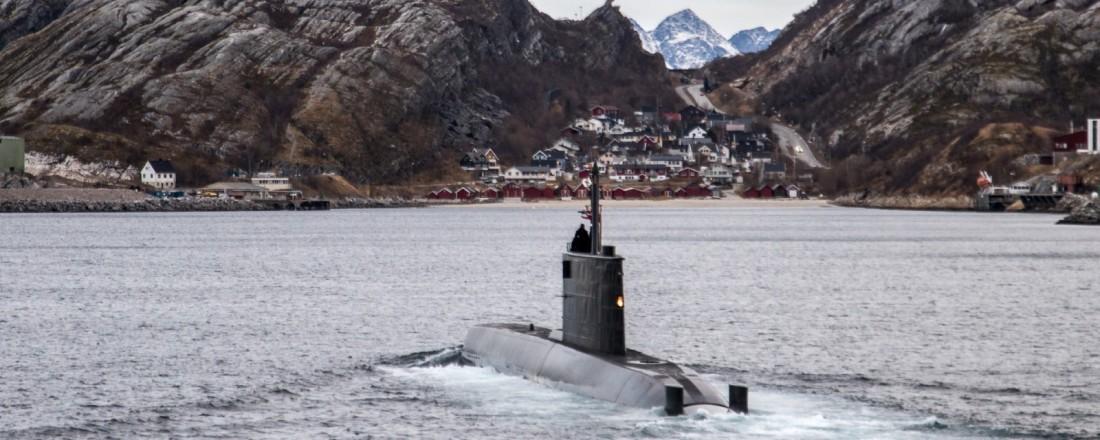 Ula-klasse ubåt. Foto: Forsvaret