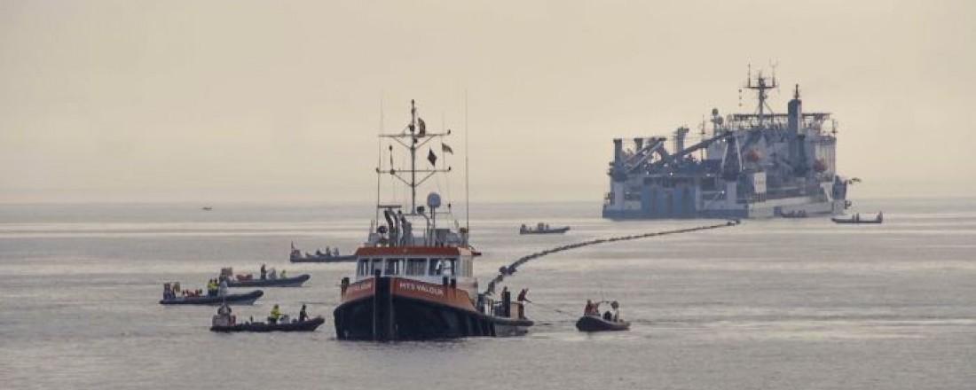 Verdens lengste strømkabel blir nå strukket under Nordsjøen. Foto: Statnett
