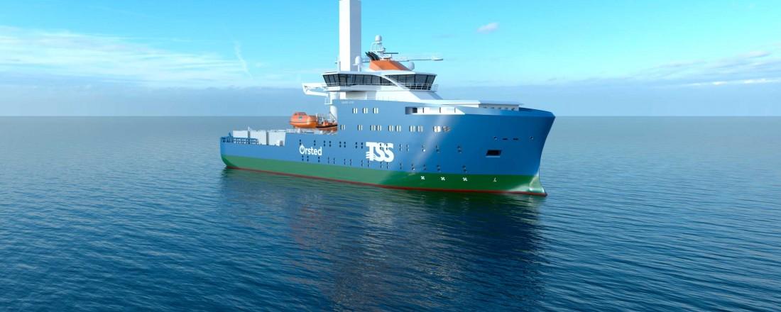 Vard skal designe og bygge et havvind servicefartøy, med designtype 4 19. Illustrasjon: Vard