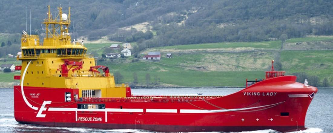Viking Lady skal arbeide for Aker BP under den nye rammeavtalen mellom oljeselskapet og Eidesvik.