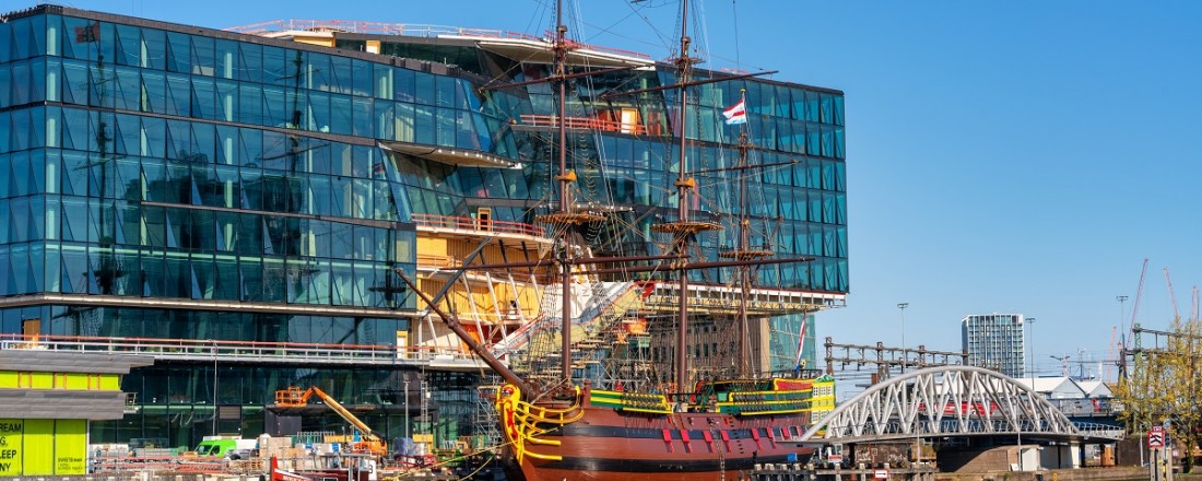 VOC Amsterdam back National Maritime Museum following maintenance at Damen yards