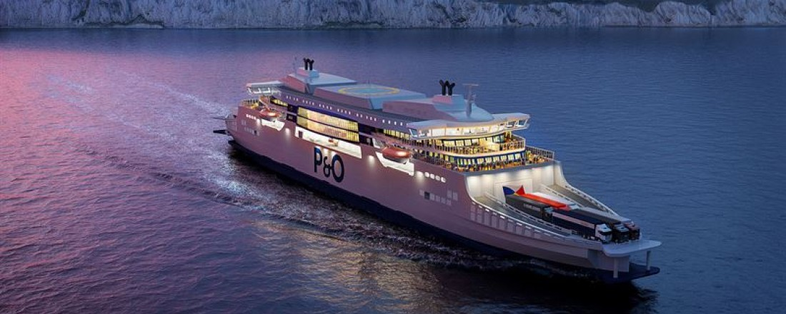 P&O Ferries' new series of 'super ferries' will be powered by Wärtsilä 31 engines fitted with the latest Wärtsilä Data Communication units. Photo: P&O
