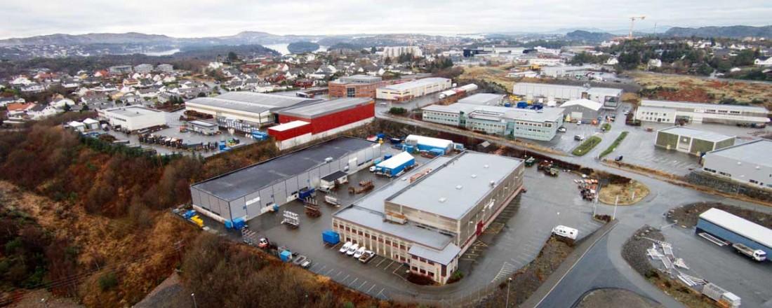Bergen Group AAK har hovedkontor på Straume på Sotra. Foto: Bergen Group