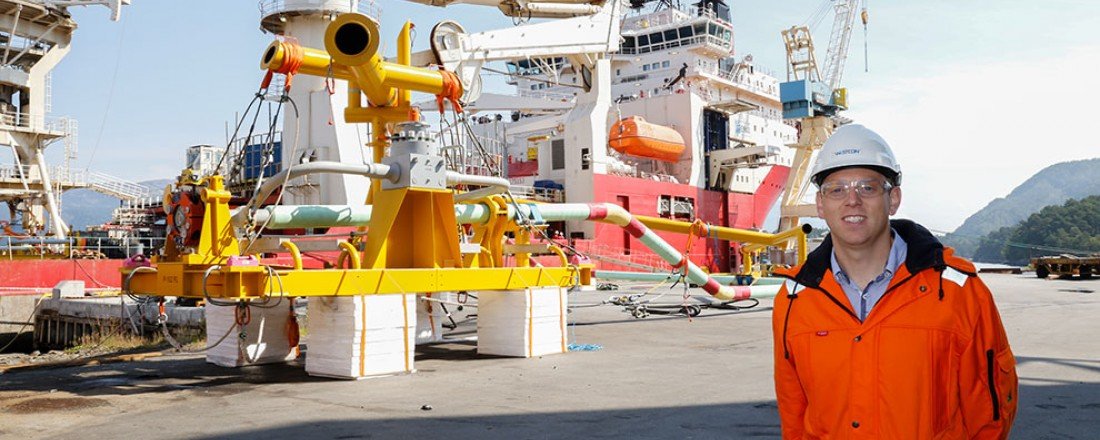 Leder for subseavdelingen i Westcon, Steinar Matre, ser frem til samarbeidet med Subsea 7. Alle foto: Westcon