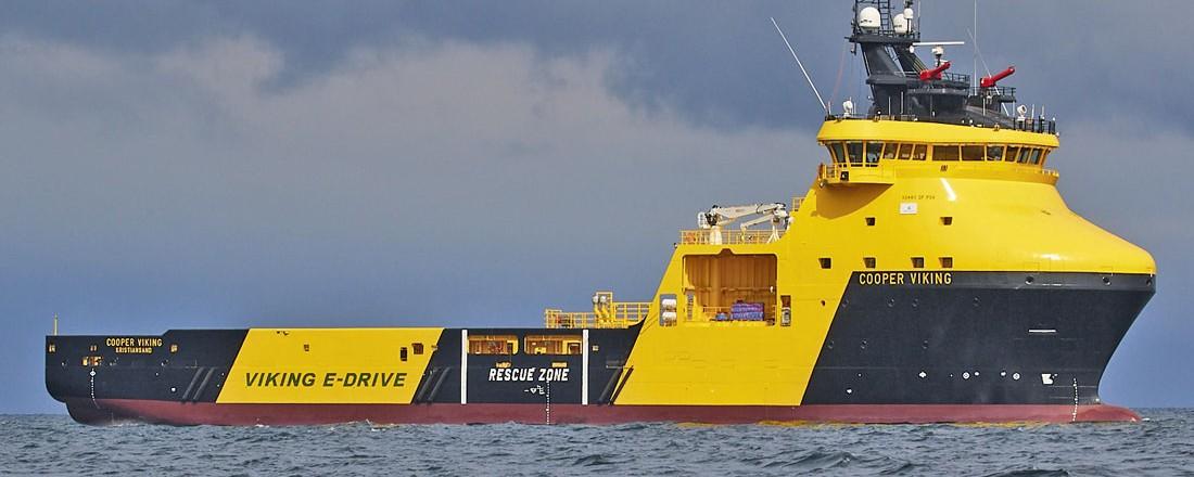 Søsterfartøy Cooper Viking. Foto: Viking Supply Ships