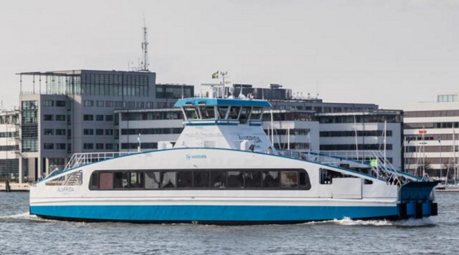 New electric ferry for Swedish company.