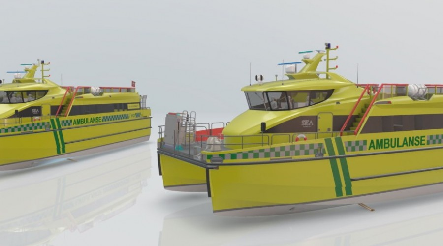 Both vessels are planned to be in operation before May 1st, 2022. Illustration: Sea Technology