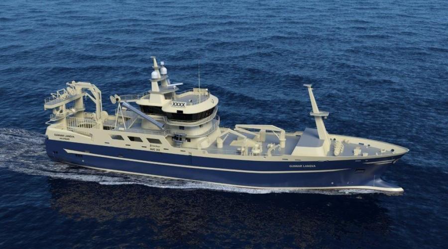 Den nye fiskebåten får design type NVC 353.