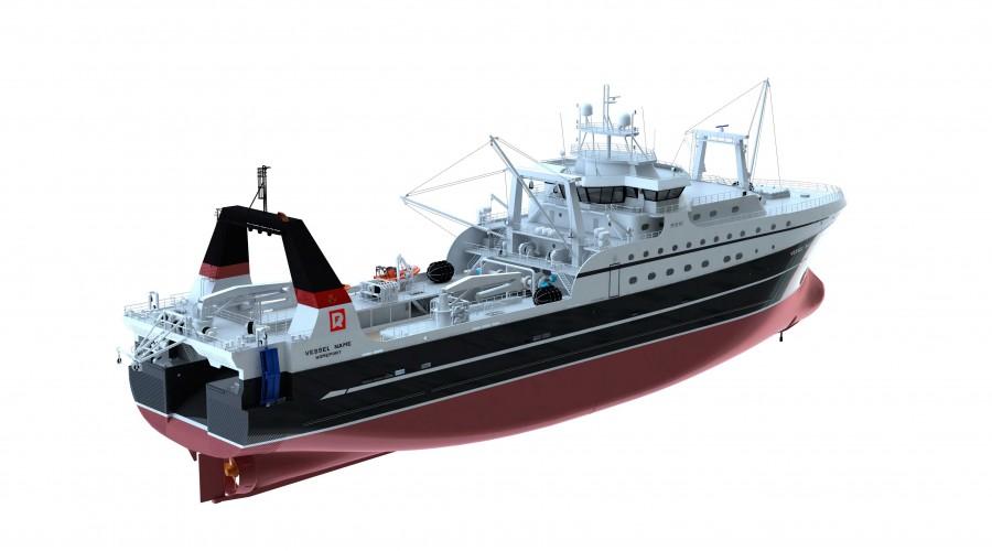 ST192-design fra Skipsteknisk. Ill: Skipsteknisk