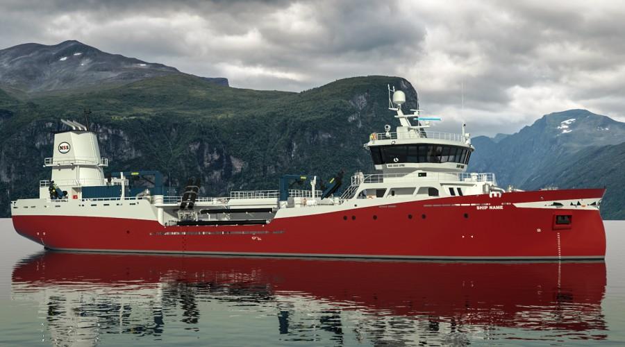 «Færøysund» skal bli et av de mest miljøvennlige brønnbåtene med batteribasert fremdriftsteknologi fra ABB.