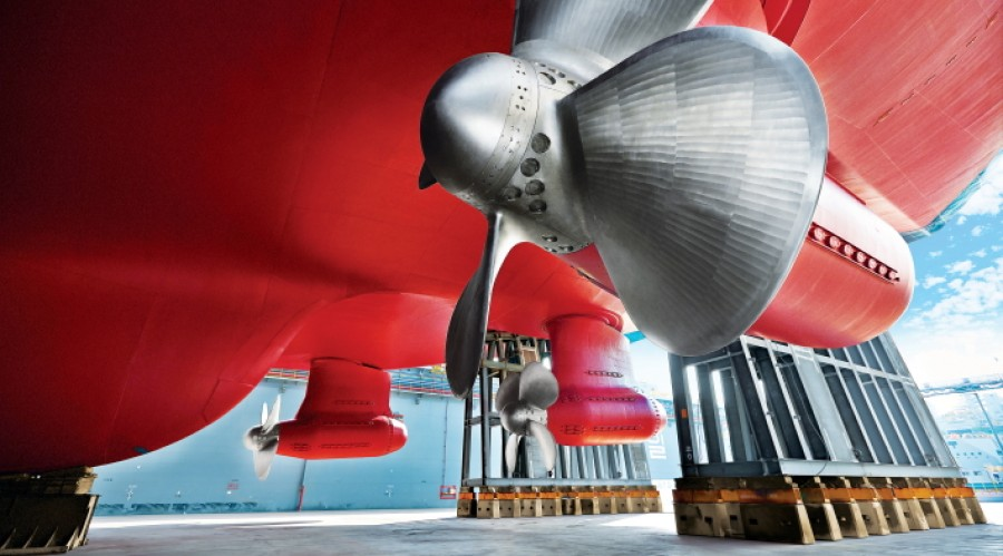 ABB Azipod propulsion has become an industry standard for ice-going vessels. Photo: ABB