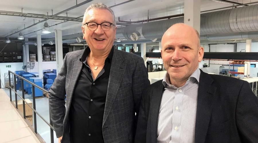 Administrerende direktør Tor Leif Mongstad, og viseadministrerende direktør Odd Gunnar Kleppe. Foto: Havyard