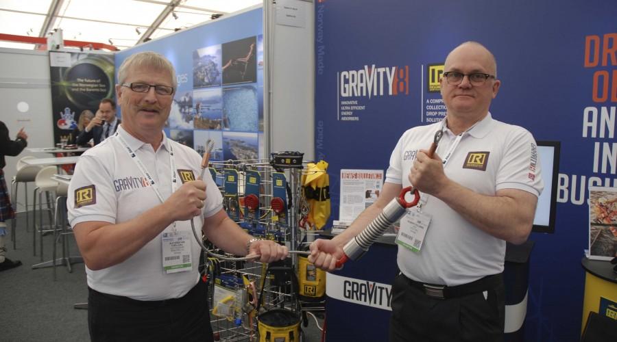 Alf Kristian Fjelldal og Robert Kolsing fra Gravity8. Foto: Kurt W. Vadset