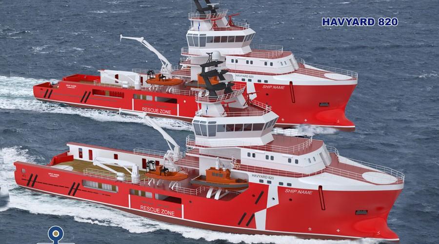Havyard 820