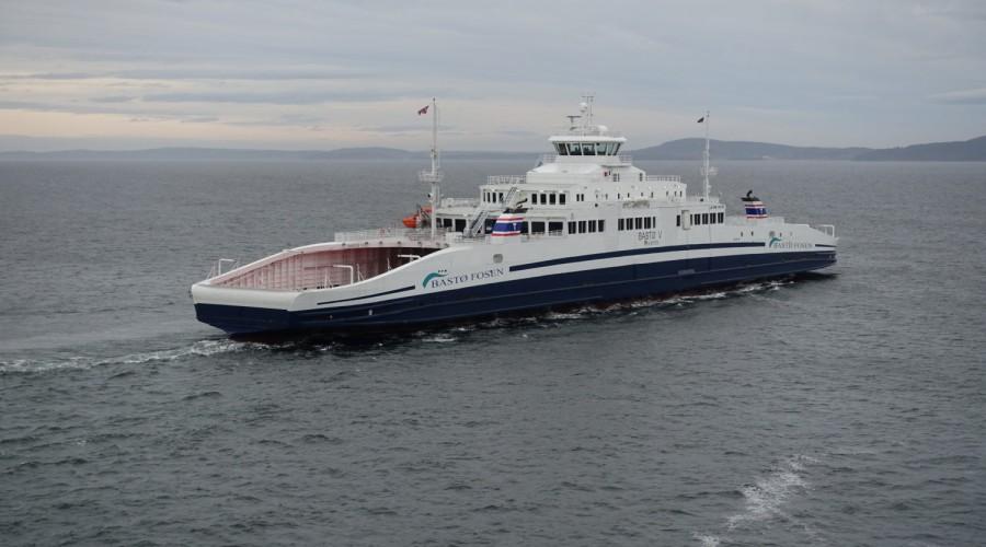 Den nye ferjen som nå er bestilt hos Sefine i Tyrkia blir av samme type som Bastø IV, V og VI. Foto: Multi Maritime