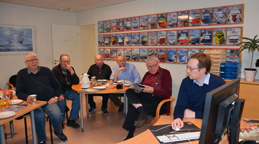 Besøk av Nordvest Skipsfartshistorisk Selskap Ålesund