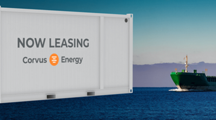 Corvus Energy is now offering a global lease financing product in cooperation with Viridis Kapital to lease Energy Storage Systems (ESS) for both newbuilds and retrofits. Photo: Corvus Energy