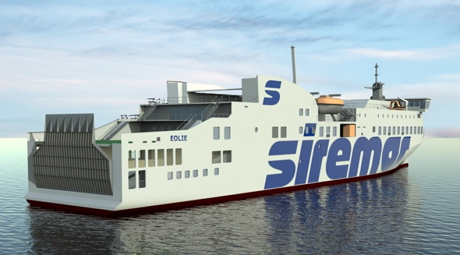 The new Caronte & Tourist ferry will operate with Wärtsilä LNG-fuelled engines which emit no sulphur or particulate emissions, and with vastly reduced NOx emissions. © Pictures courtesy of NAOS