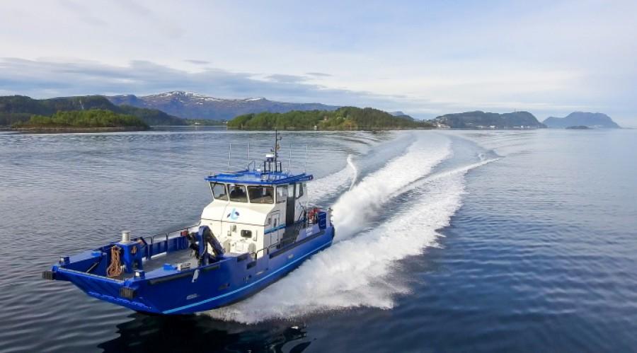 Alusafe 1500 MPV Hybrid – er bygget i resirkulerbart aluminium.. Foto: Maritime Partner.