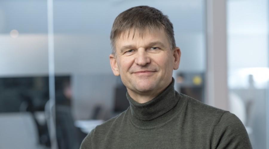 Konsernsjefen i Mørenot, Arne Birkeland, overtar som leder av det nye datterselskapet Hvalpsund Net inntil videre. Foto: Mørenot.