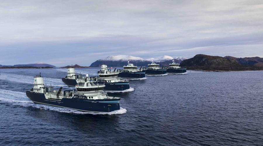 Aas Mek. skal de neste tre årene bygge fem brønnbåter med design AAS 3002 ST, alle med levering til Sølvtrans. Ill: Aas Mek. Verksted