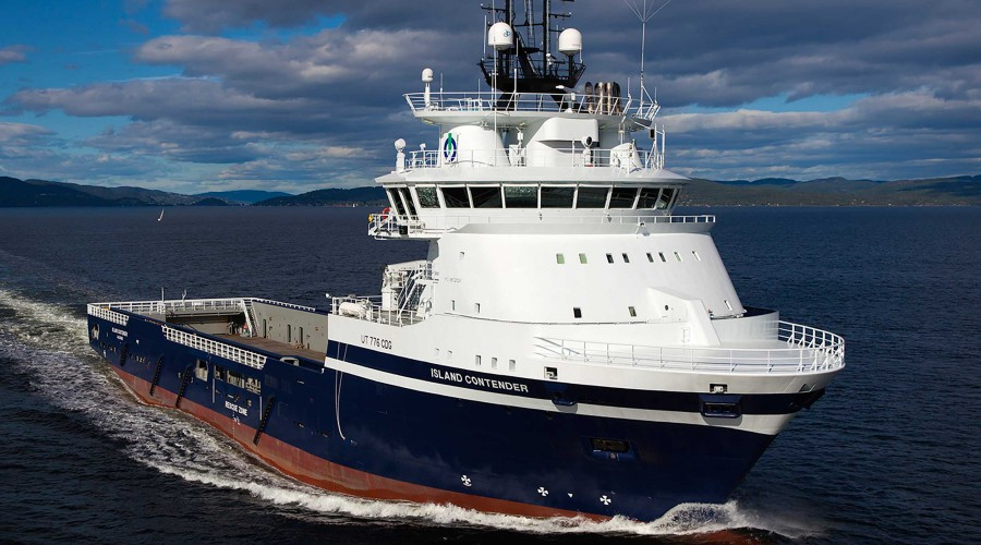 LNG-drivne Island Contender har sikra seg jobb for Neptune Energy Norge. Foto: Island Offshore