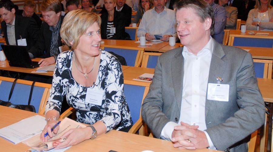 Kjersti Kleven og Lars Gørvell-Dahll