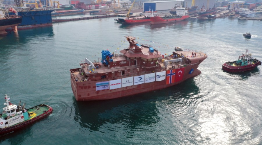 Argos Helena will be the 6th vessel to be built for Ervik Havfiske. Photos: Tersan.