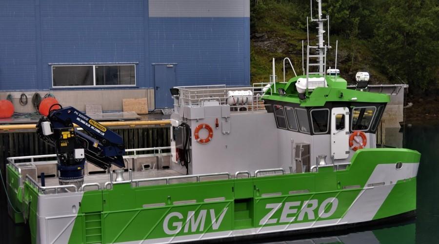 Batteribåten Astrid Helene er av Grovfjord Mek. Verksted sin GMV Zero-type. Foto: Grovfjord Mek. Verksted