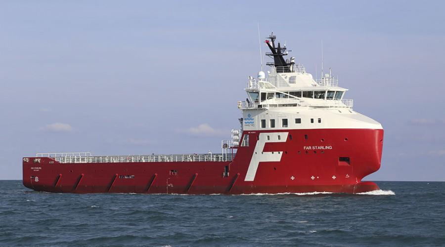 Far Starling er ett av fartøyene som har fått jobb. Foto: Farstad Shipping