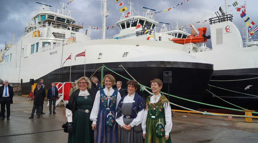 Tove Mette Bjørkmo, Aina Olaisen, Anne Ebeltoft og Ann Kristin Thomassen