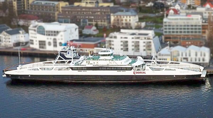 MF Karlsøyfjord skal være på Molde-Vestnessambandet, og skal ferdigstilles til juni 2022.