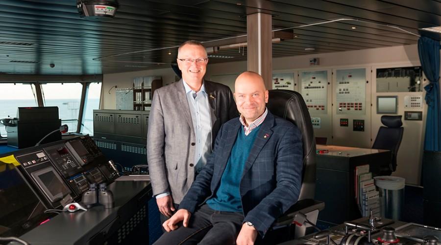 Ingvald Fardal og Rickard Ternblom